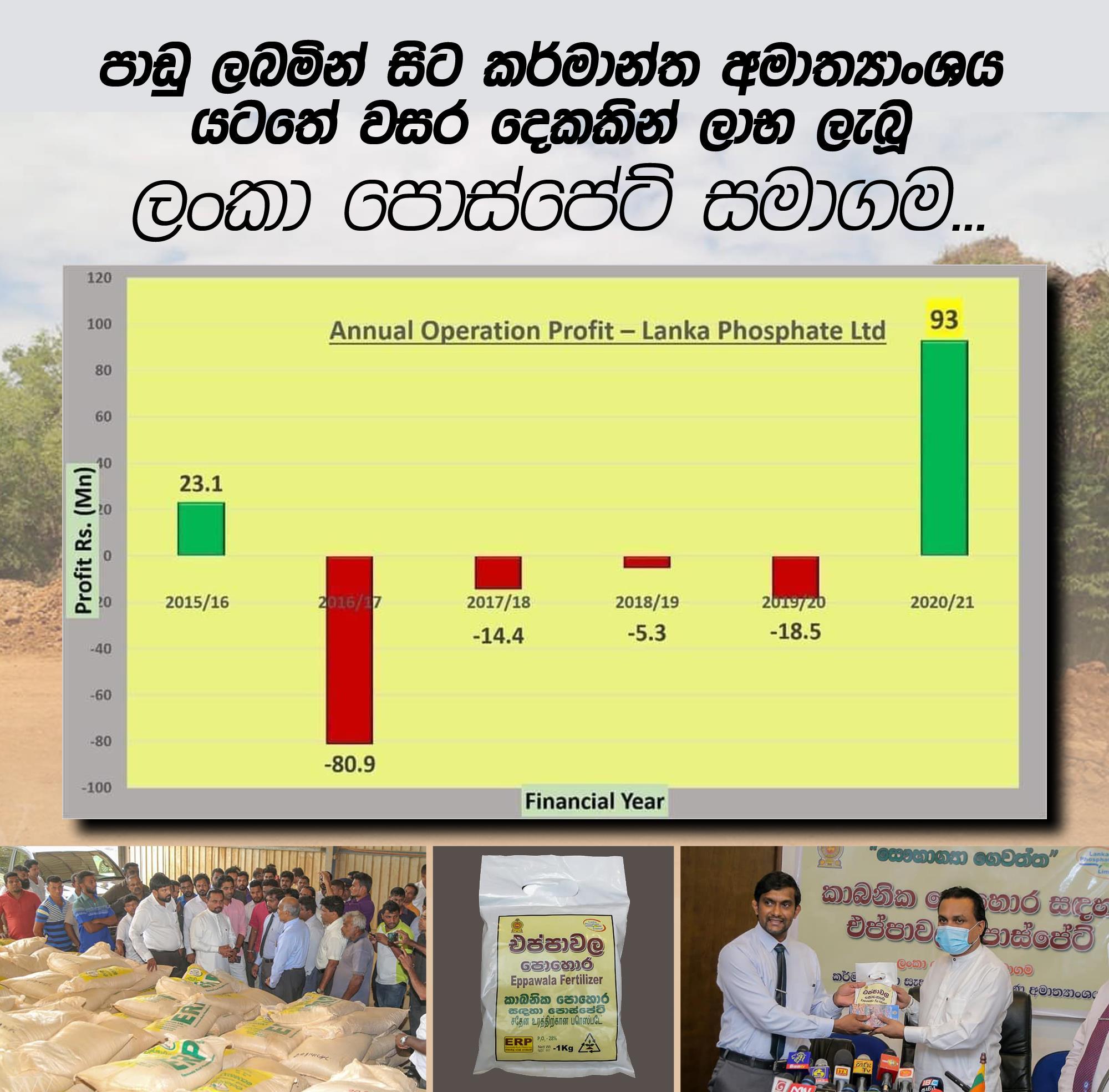 phosphate under agricultural ministry