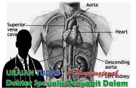 Tugas Pokok Dokter Spesialis Penyakit Dalam