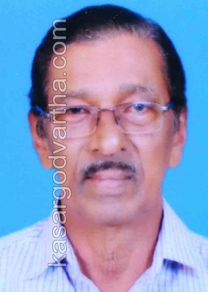 Kasaragod, News, Obituary, A Raghavan, Kizhakkumkara, A Raghavan of Kizhakkumkara passed away.