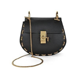 Chloe Drew Calfskin Leather Shoulder Bag