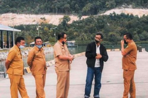 Dewan Nasional KEK Lakukan Peninjauan Lapangan di Natuna