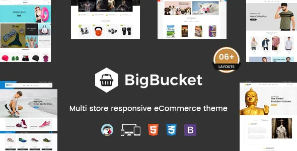 BigBucket Multipurpose Responsive Prestashop Theme