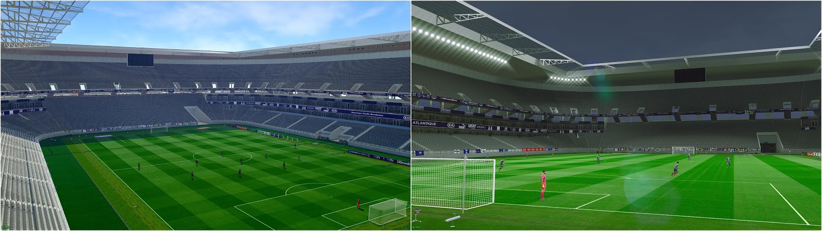 PES 2019 Matmut Atlantique Stadium by Gavi83