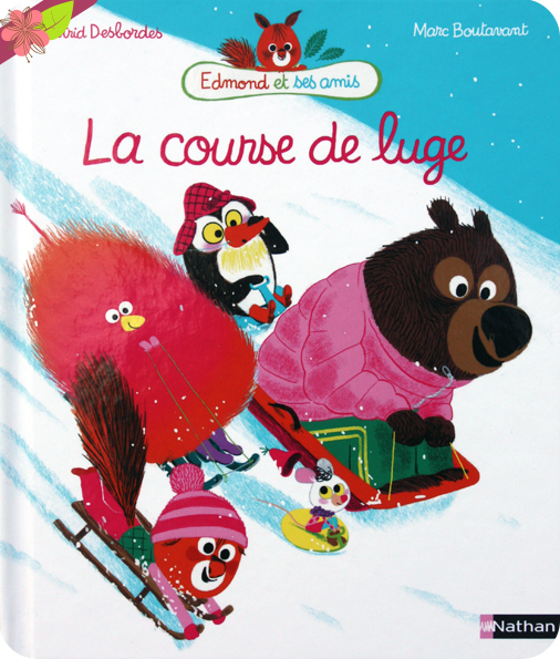 La course de luge d'Astrid Desbordes et Marc Boutavant - Nathan