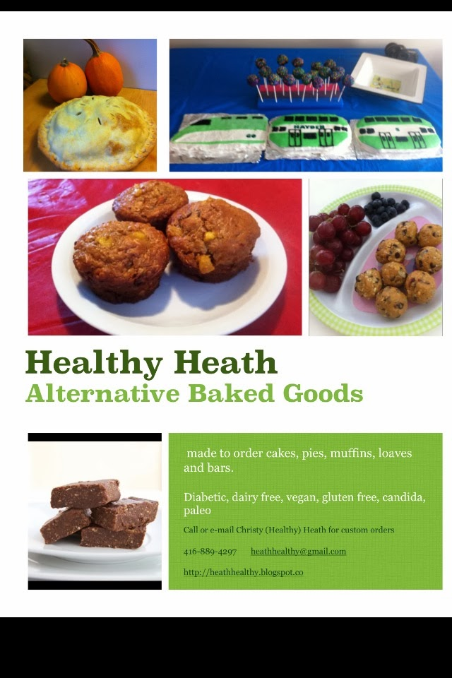 Healthy Heath: Made To Order Alternative Baked Goods