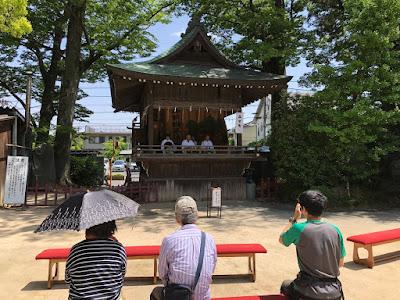 久伊豆神社太々神楽(平成30年4月29日)