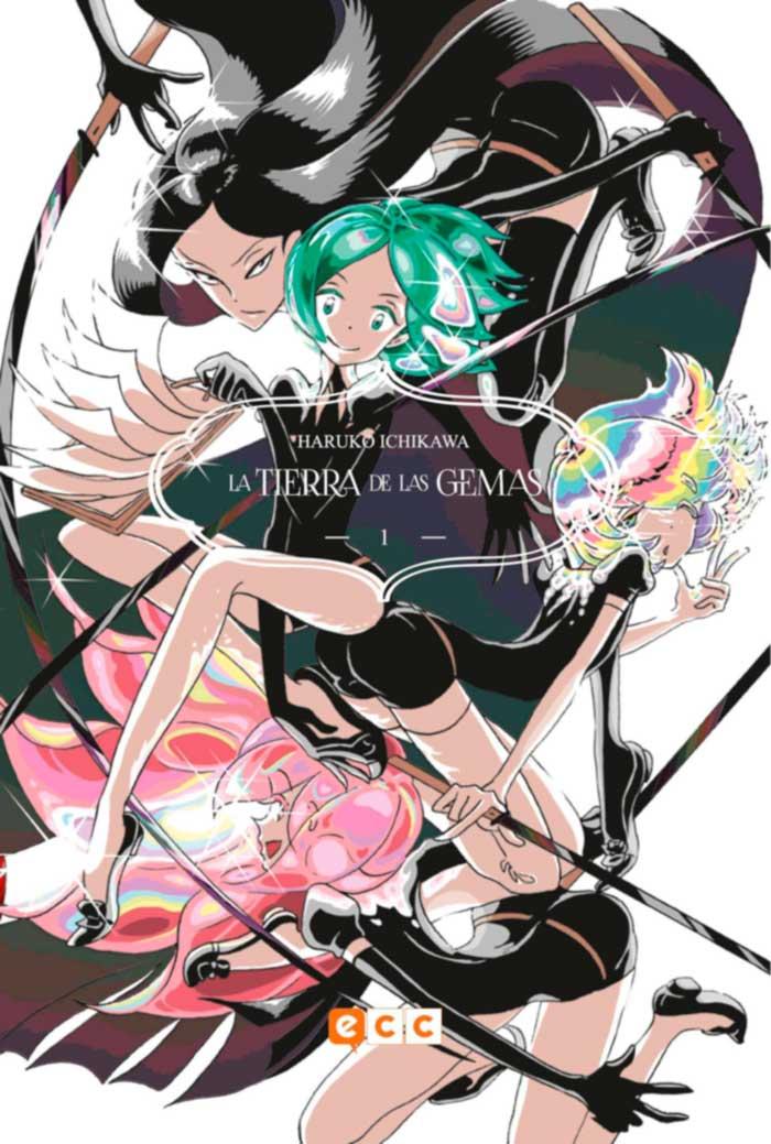 La tierra de las gemas (Houseki no Kuni) - ECC Ediciones