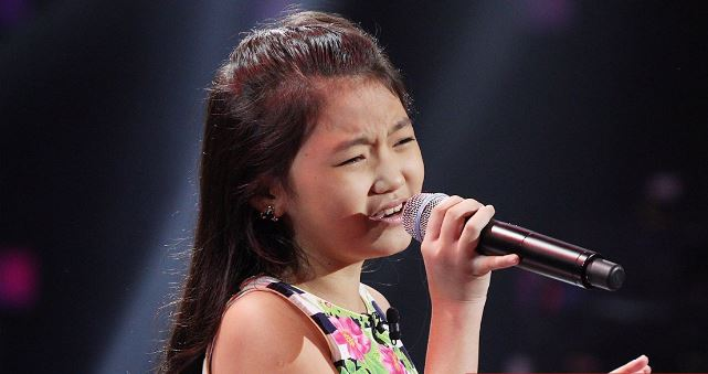 "3-chair turner Sharla Cerilles belts out ""Power of Love"" on 'Voice Kids'"