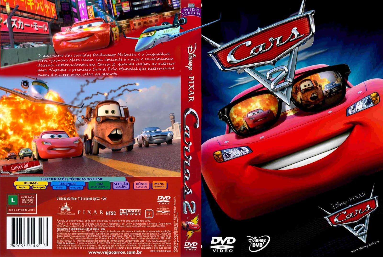Capas Filmes Animacao Carros 2
