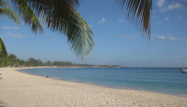 wimbe beach pemba town mozambique