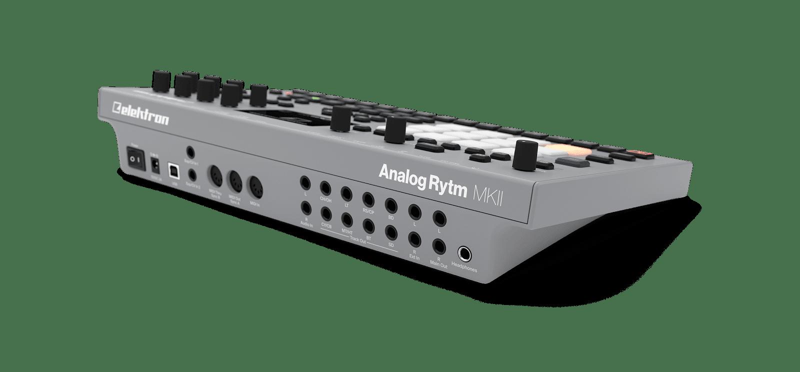 matrixsynth  elektron introduce analog four  u0026 analog rytm