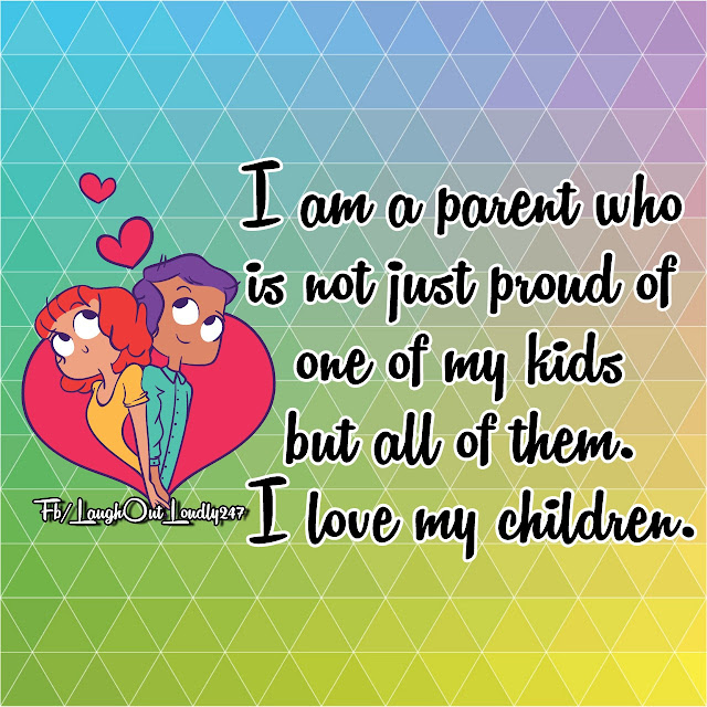 My children mean the world to me