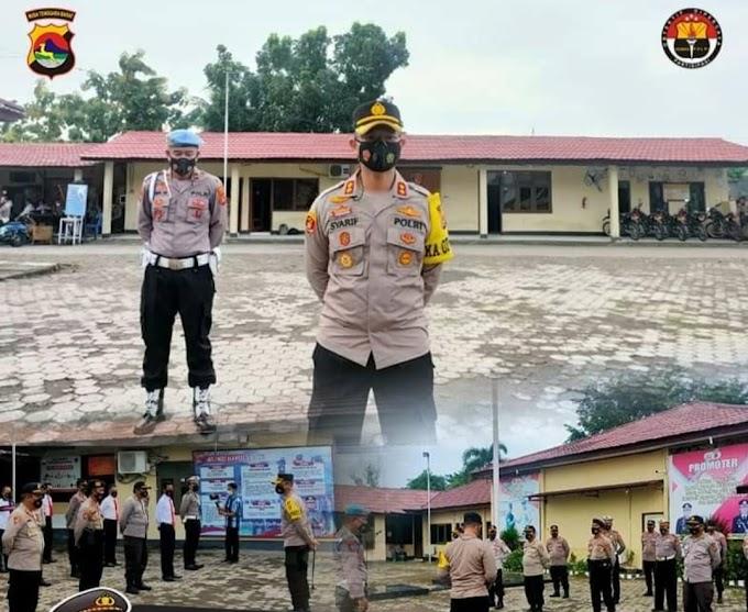 Antisipasi Aksi Teror, Mako Polres Dompu Dijaga Ketat TNI hingga Brimob