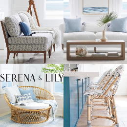 Serena & Lily Coastal Decor & Furniture