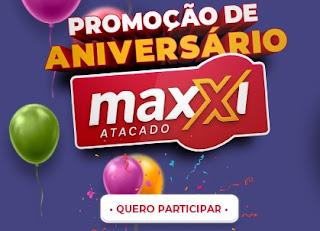 Promoção Aniversário 2020 Maxxi Atacado 31 Anos Prêmios 25 Mil Reais  - Sorteios