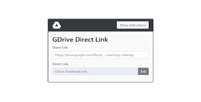 Google drive link generator - What is google drive link generator