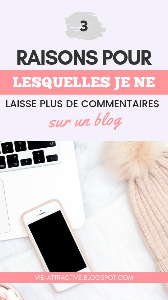 3 raisons pour lesquelles je ne laisse plus de commentaires sur un blog | développement personnel