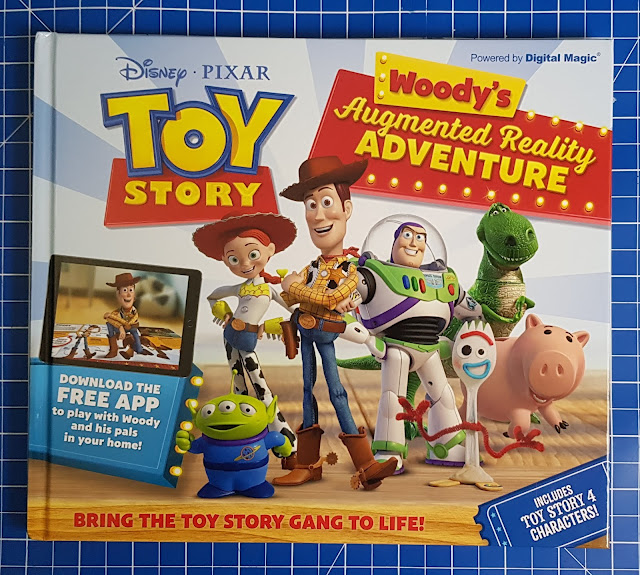 Carlton Disney Toy Story Book AR Book Cover Image with characters and title