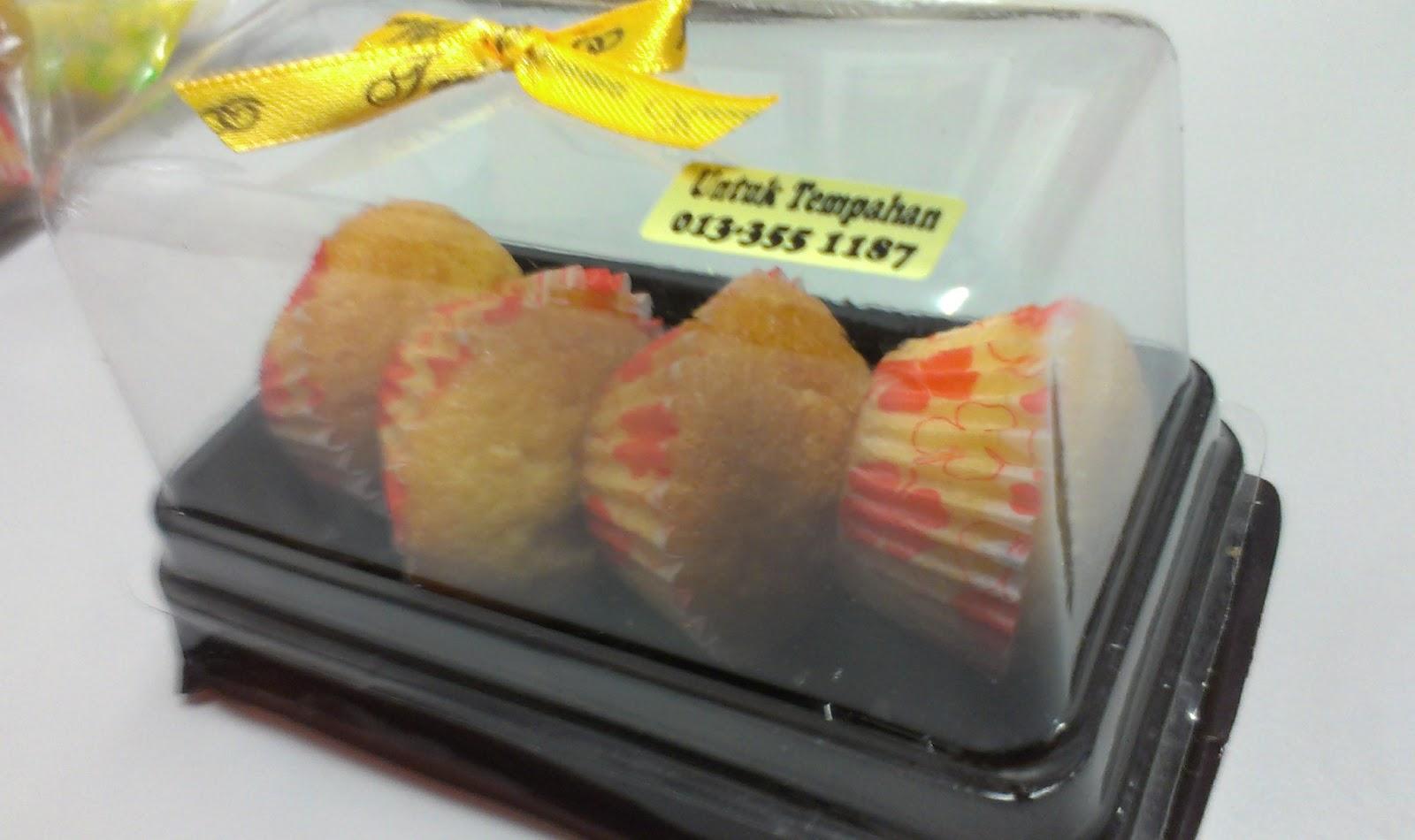 Contoh Door Gift: Sweet Homemade: Sample/Contoh Mini Muffin Untuk Door Gift