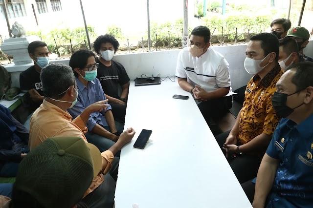 Bertemu  FJM, Bobby Nasution akan Benahi Hubungan Pemko dengan Insan Pers