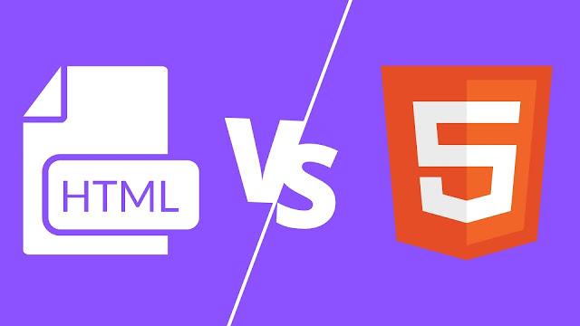 تعلم الفرق بين ال HTML و HTML5