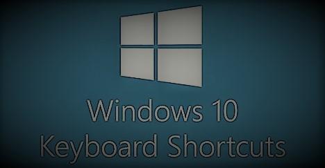 مجموعة اختصارات لوحة المفاتيح في ويندوز 10