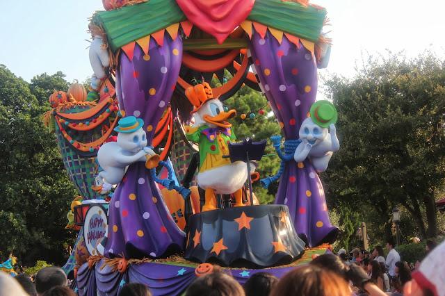 Tokyo Disneyland Halloween Parade Donald Duck