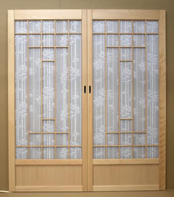 Shoji screens for a tatami room