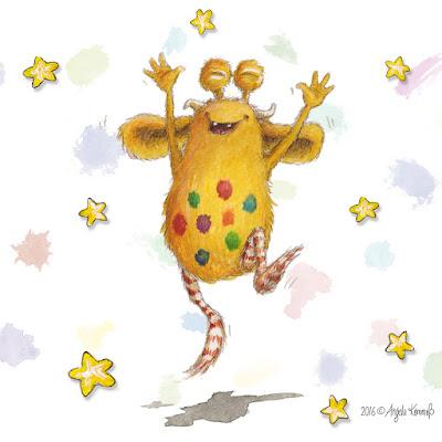 Pumpf, Kinderbuch, Glück, Resilienz, Loni lacht