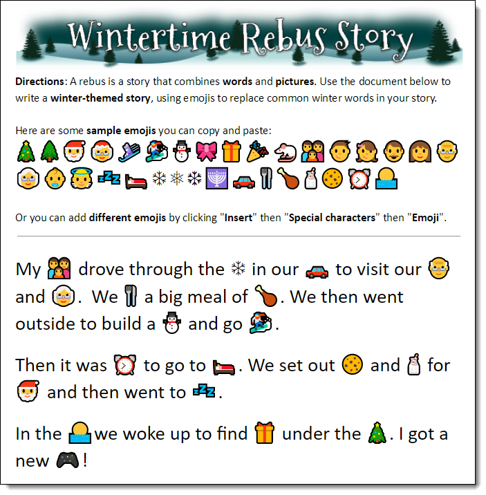 Emojis, iPads and G-tubes, Oh My!