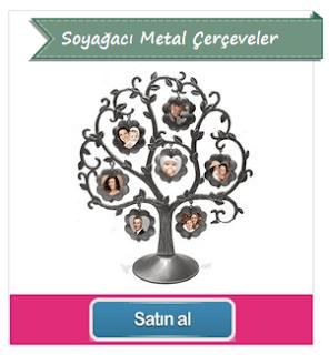 Soyağacı Metal Çerçeveler