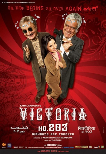 Victoria No.203 2007 Hindi 480p DVDRip 350mb