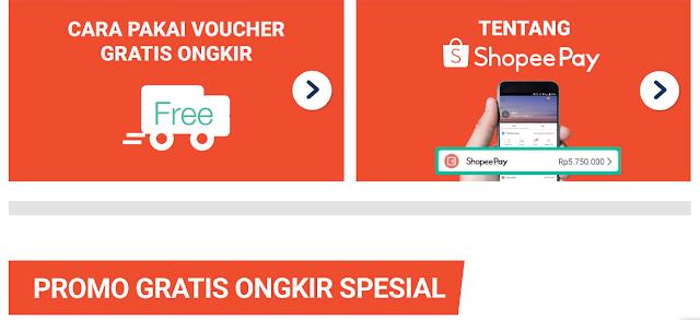 Cara Mendapatkan Voucher Gratis Ongkir dari Aplikasi Shopee
