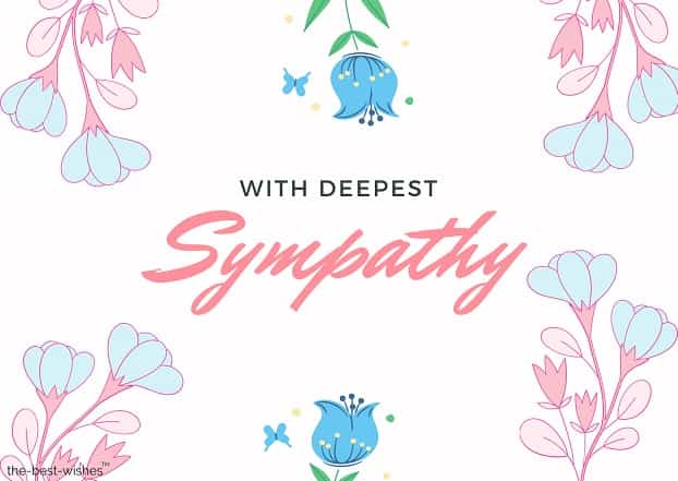 sympathy card for mother in law