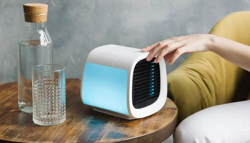 vaChill EV-500 ... a portable air conditioner that can cool down a room in 10 minutes