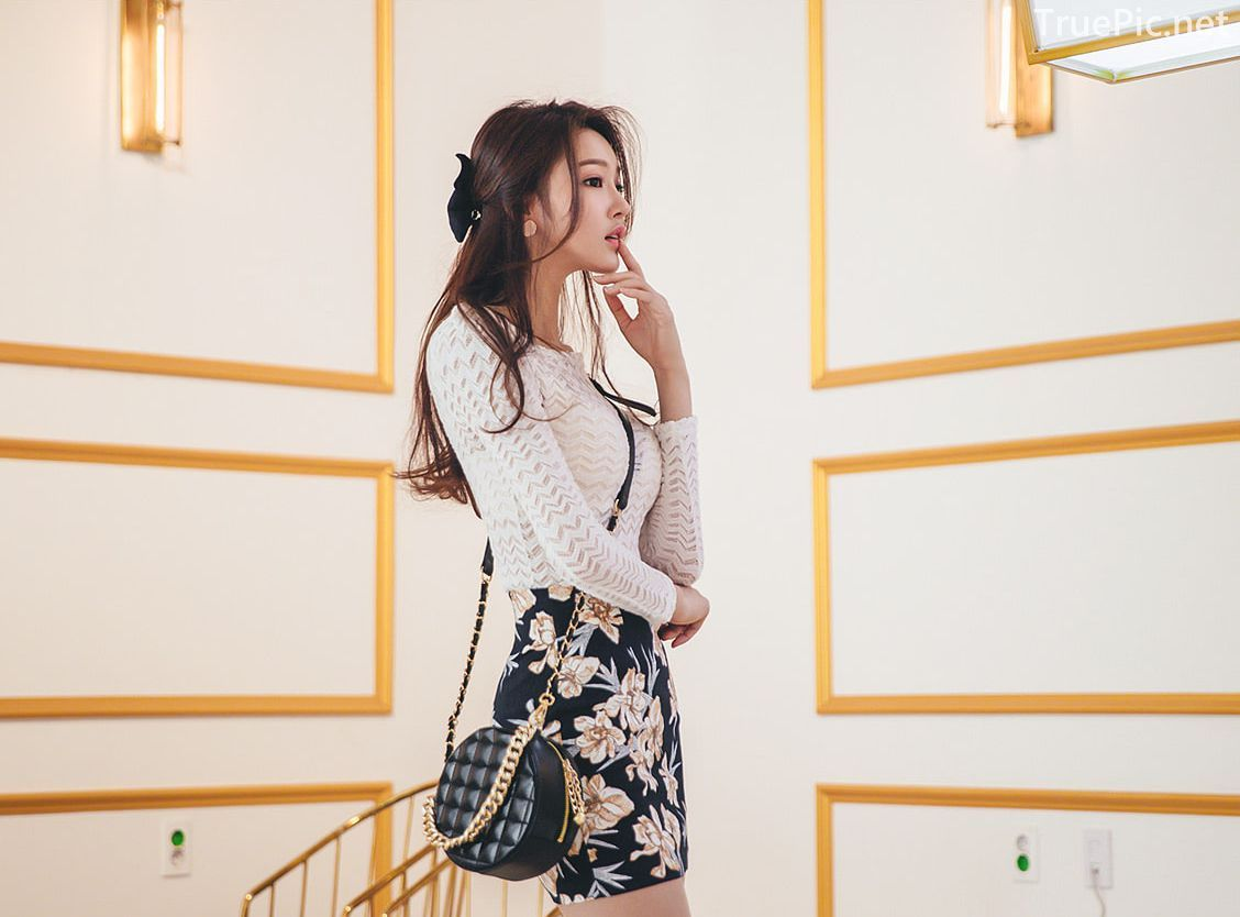 Park Jung Yoon - Korean Fashion Model - Casual Indoor Photoshoot - TruePic.net - Picture 7