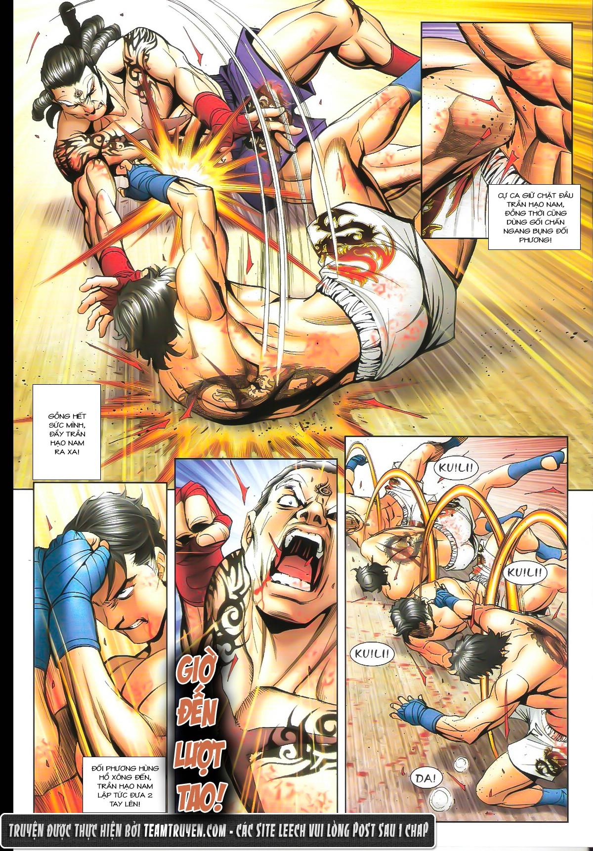 Người Trong Giang Hồ chapter 1627: sợ vỡ mật trang 10