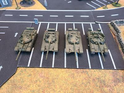 Flames of War, FOW, Team Yankee, TY, WWIII, miniatures, 15mm, T-62M, T-72, T-64, T-80U, comparison, soviet