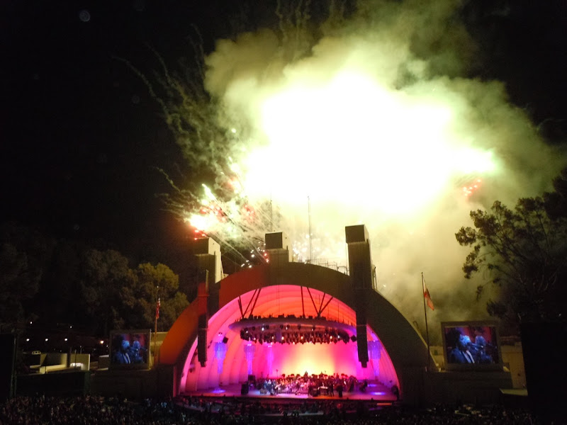 Hollywood Bowl opening night fireworks