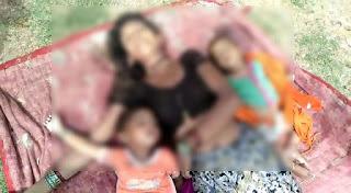 महिला अपने 4 बच्चों के साथ कुवे में कुदी, सभी की मौत