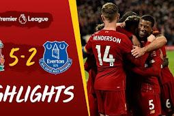 Cuplikan Gol Liverpool Vs Everton 5-2
