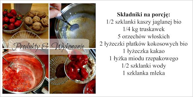 kasza jaglana na słodko składniki