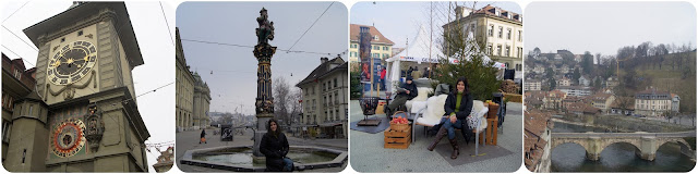 Suíça / Berna / Cidade Medieval / Antiga / Capital