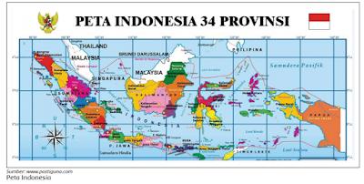 peta indonesia 34 provinsi www.simplenews.me