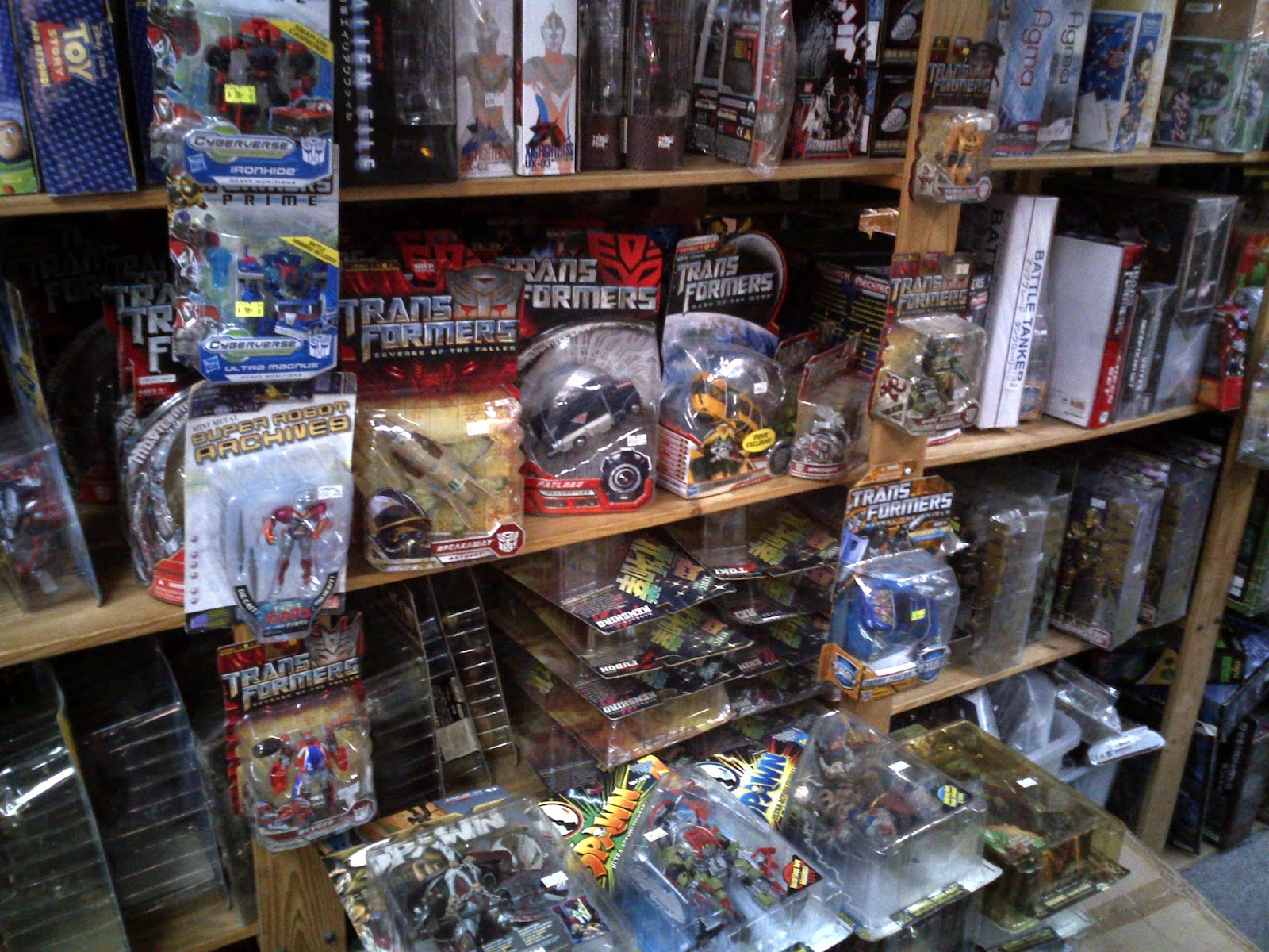 Hong Kong Toy Hunt - Transformers