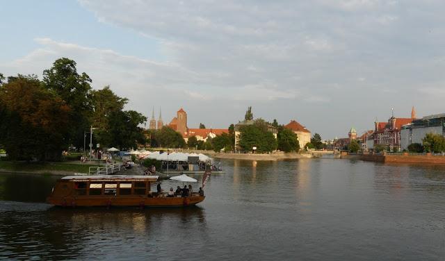 Wrocław (Breslau) - Gemütlicher Spaziergang am Abend