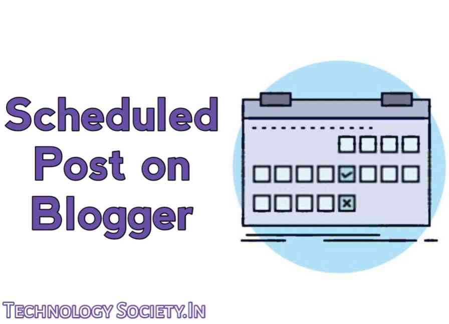 Scheduled an Article Post on Blogger