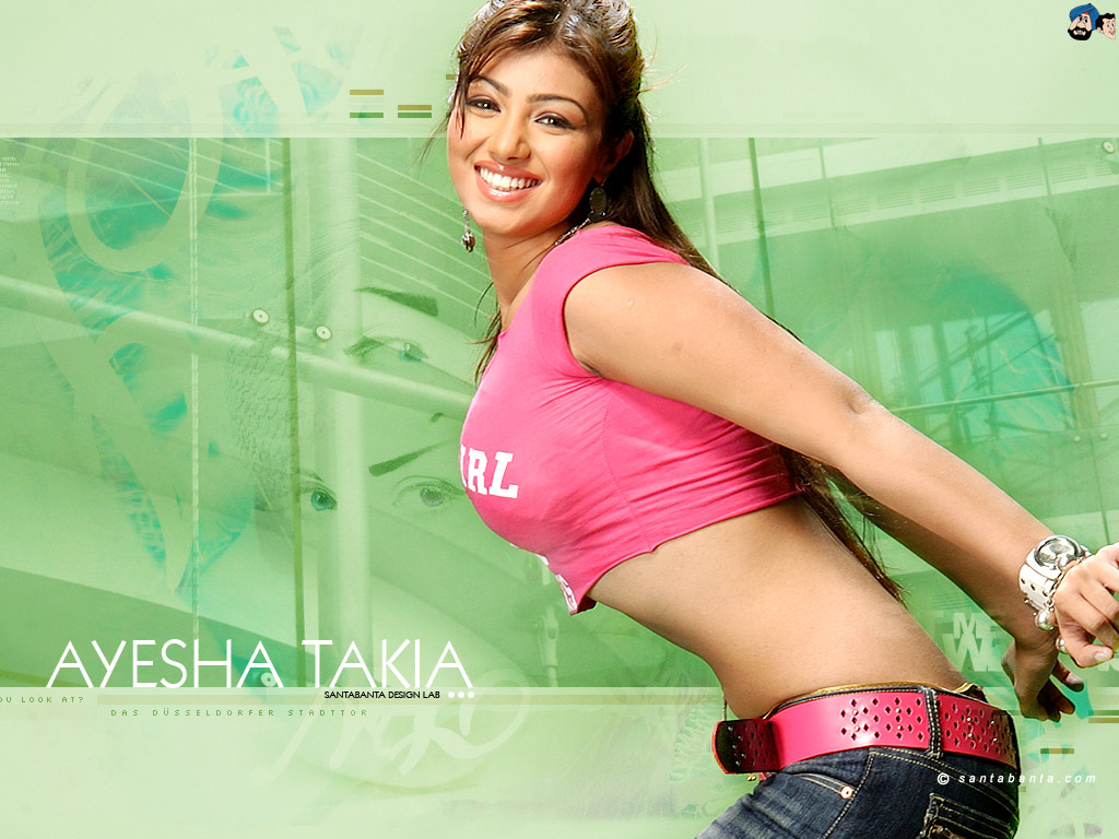 Deepika Padukone Ayesha Takia Hot Wallpapers-3115