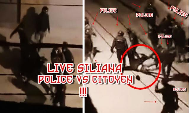 Tunisie - Violences policières: un jeune homme tabassé à siliana