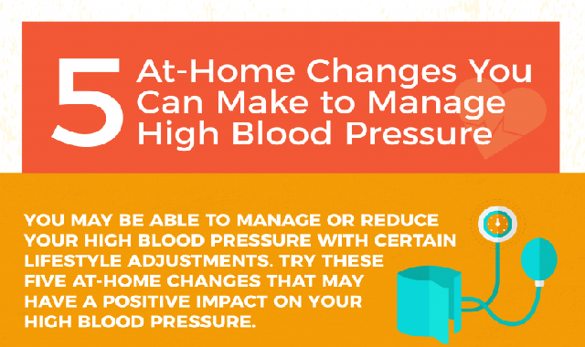 How To Manage High Blood Pressure #infographic